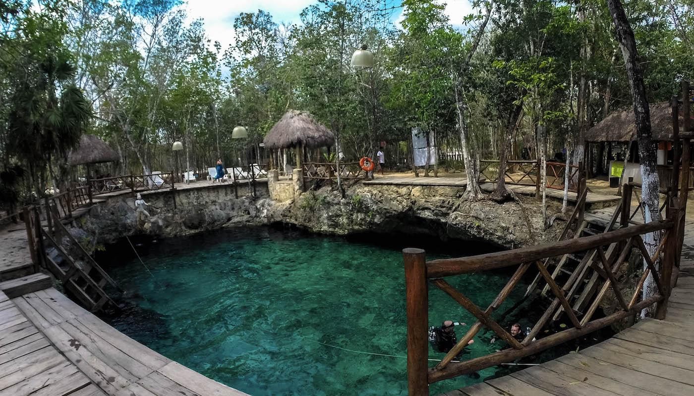 cenote tulum yucatan mexique