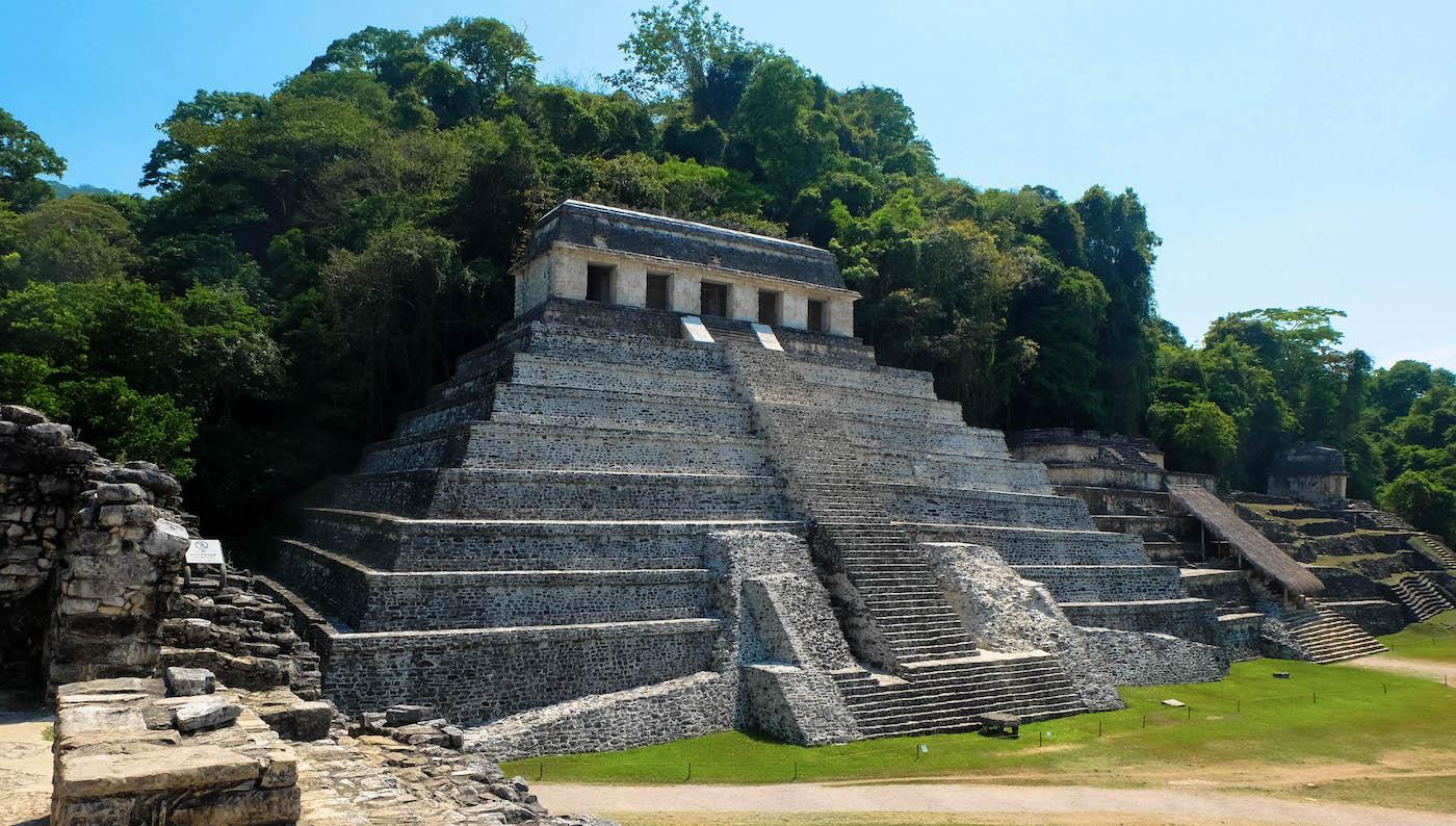 Palenque Mexique pyramides mayas