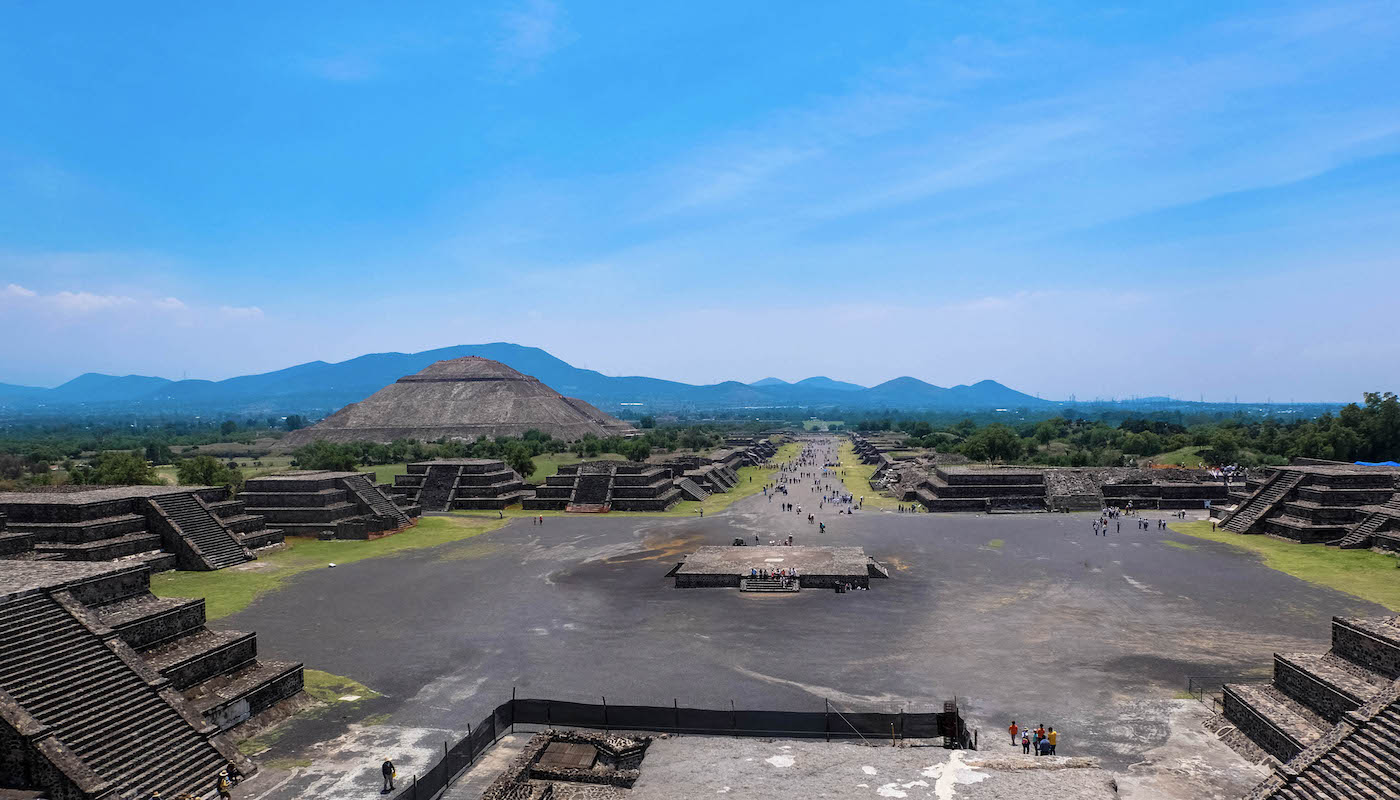 Teotihuacan mexique pyramides