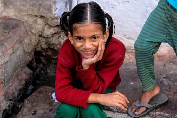enfant udaipur sourire