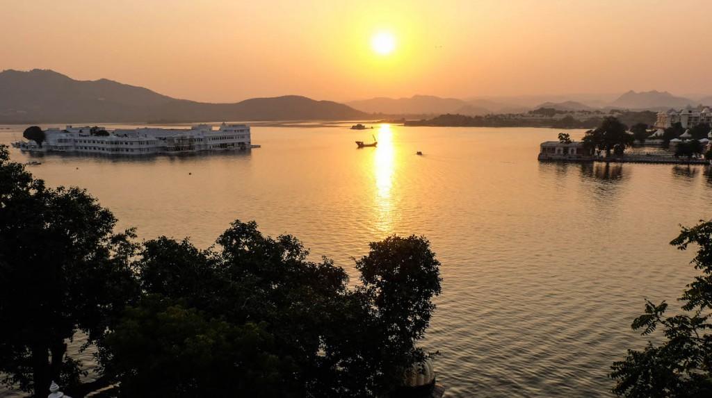 Lake palace udaipur india