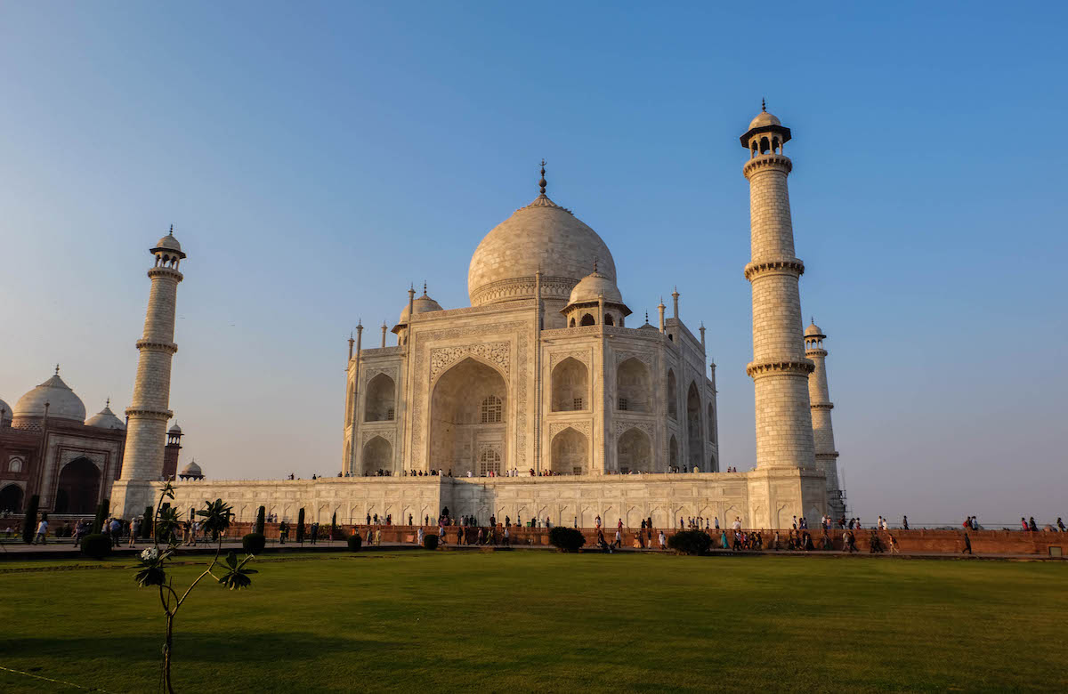 agra Taj Mahal inde