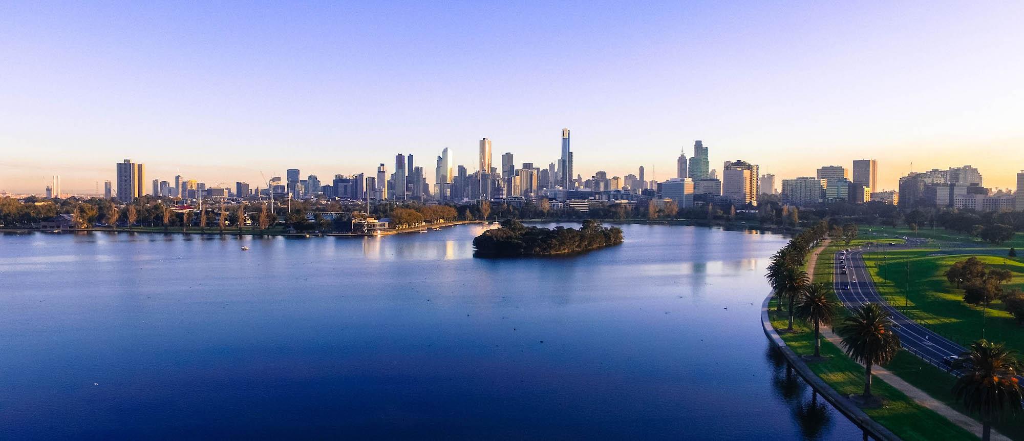 melbourne albert park australie victoria