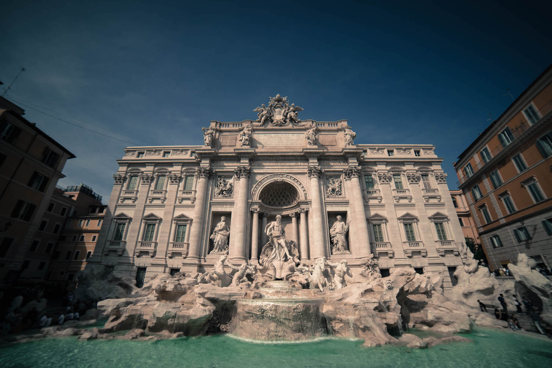 Rome italie fontaine trevi