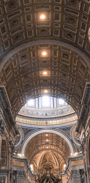 nef basilique saint pierre vatican