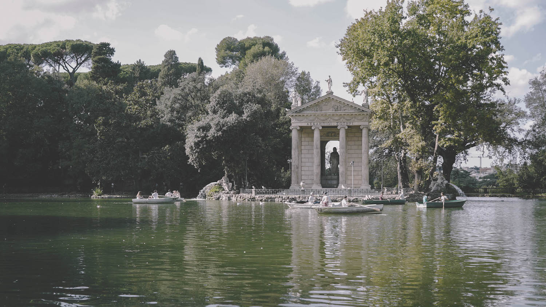 rome italie villa